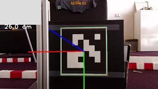 HoloLens AR marker detection | HoloLensArucoTracking VS