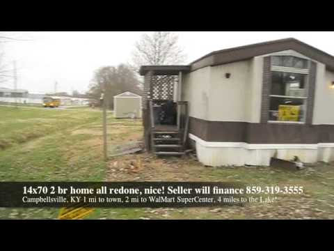 all redone, nice! Owner will finance. Rent to own house, Affordable Mobile home for sale in Kentucky