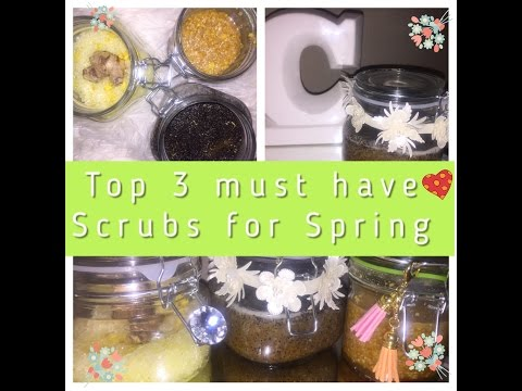 DIY Top 3 Must Have Scrubs For Spring!