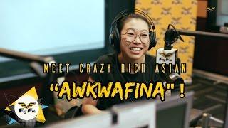 "Meet Crazy Rich Asian ""Awkwafina"" !   #HafizGuibo"