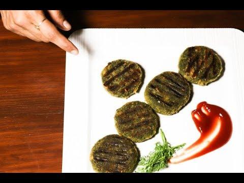 hara bhara kebab restaurant style in kannada | Veg kabab