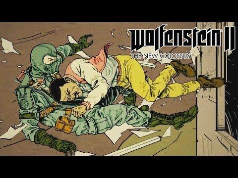 WOLFENSTEIN 2 THE ADVENTURES OF GUNSLINGER JOE All Cutscenes Movie (Game Movie)