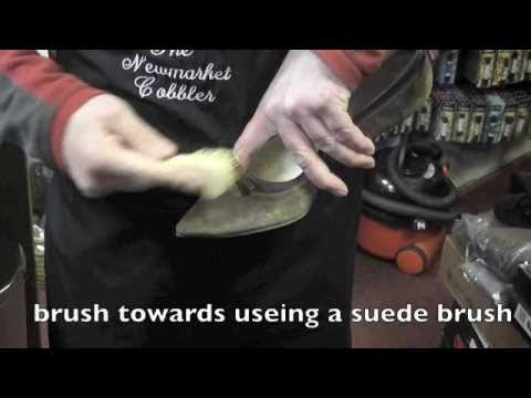 How to clean your dirty suede shoes www.pickupmyrepair.co.uk
