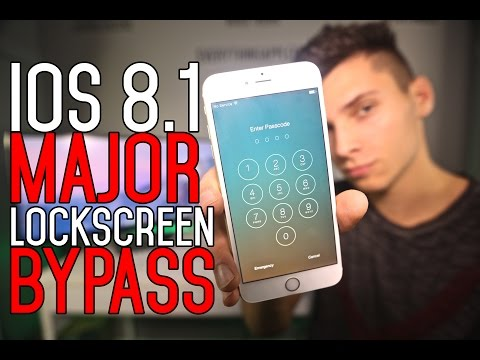 NEW How To Bypass iOS 8.1 LockScreen & Access Photos - iPhone, iPad & iPod Touch