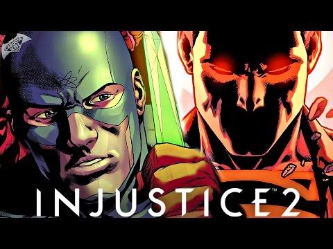 Injustice 2 Comic Book Chapter 5 - SUPERMAN PRISON BREAK!