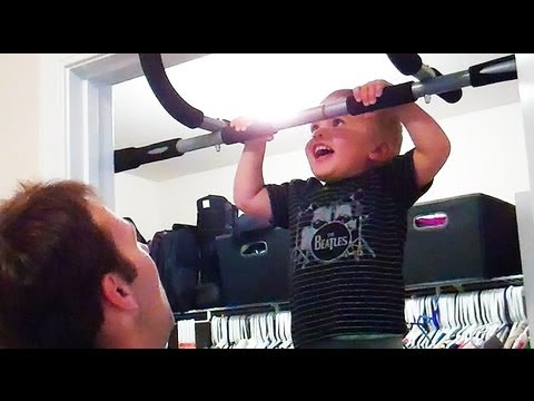 STRONGEST BABY IN THE WORLD!