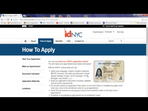 How to Apply for ID NYC
