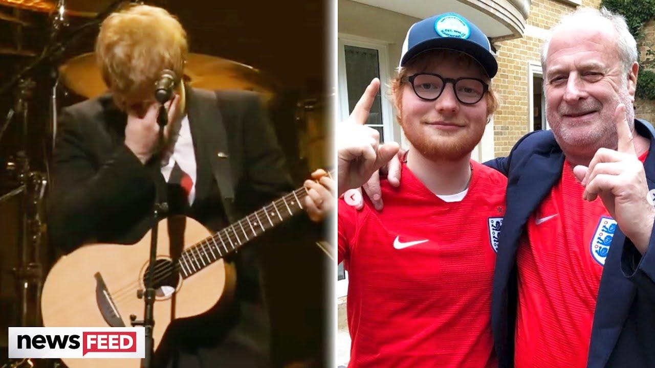 Ed Sheeran BREAKS DOWN Singing New Song About Daughter!