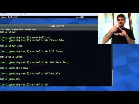 Bash shell Linux -2 episode (International Sign)