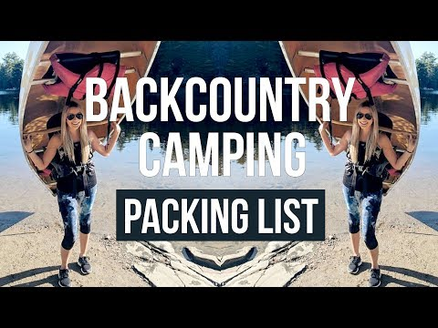 BACKCOUNTRY CAMPING | What to Pack | Gregory Jade 63L Backpack Review
