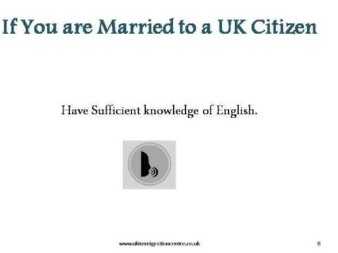 Obtaining UK Citizenship through Marriage