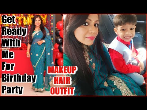 Get Ready With Me For Birthday Party | SuperPrincessjo