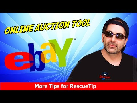 DON'T BID until you see this ebay Online Auction Tool - NOT a Sniping tool - Free