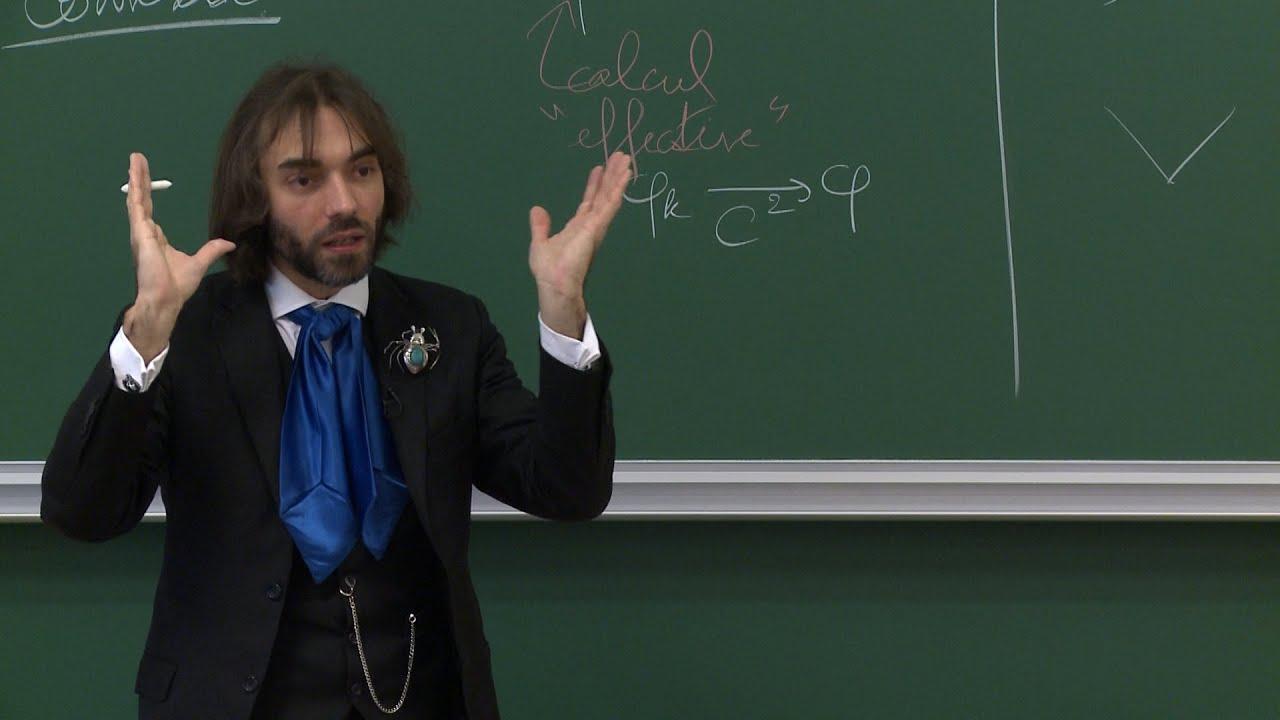 Cédric Villani - 1/7 La théorie synthétique de la courbure de Ricci