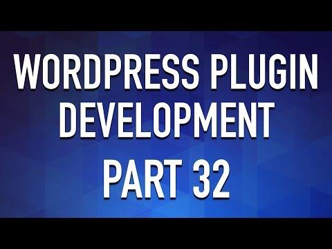 WordPress Plugin Development - Part 32 - Export PHP with Code Prettify