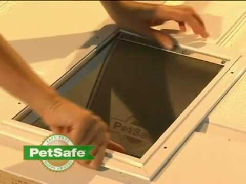 PetSafe Aluminium Pet Door Installation