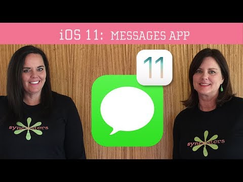iOS 11 - Messages App