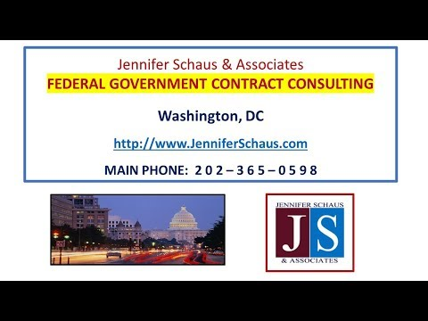 Government Contracting - So You Have A GSA Schedule, Now What - Win Federal Contracts Bids