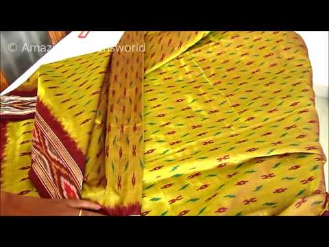 How to do Pico to Sarees / Dupatta - Step by Step Easy Way for Beginners
