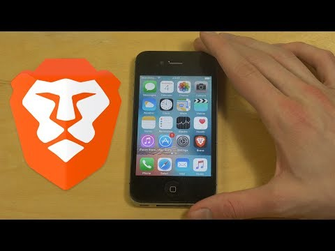 Brave Browser iPhone 4S iOS 9 Review! Fast Browser with Good Features!