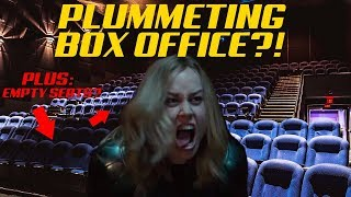 CAPTAIN MARVEL BOX OFFICE NOSEDIVE! EMPTY SEATS DURING OPENING WEEKEND!