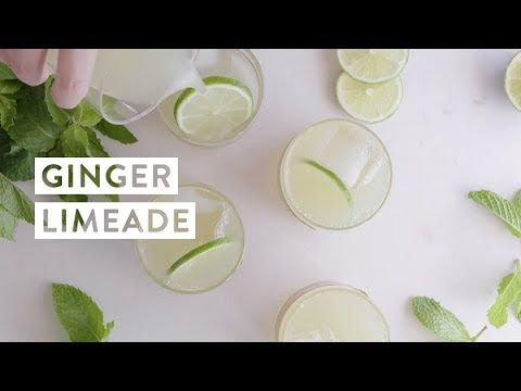 How To Make The Medical Medium's Ginger Limeade