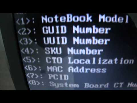 serial number not found hp ,compaq laptop حل مشكلة