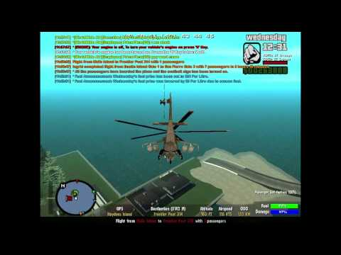Pilot`s Life  GTA - Helicopter Flight
