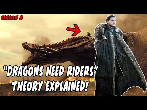 Why Dragons Need Riders Theory EXPLAINED! Game Of Thrones Season 8