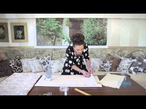 Sewing Tutorial: How to Make a Bed Throw