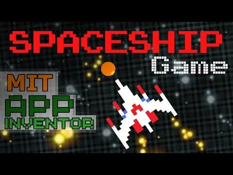Make a Spaceship Game in MIT App Inventor | Asteroids Galaga mix 🚀❓