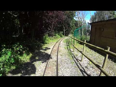 Blackpool Zoo Train Ride (Reverse POV)