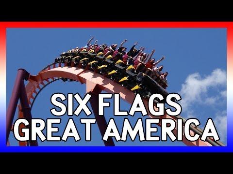 Six Flags Great America 4k Usa 2016 Days 23