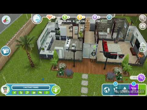 The Sims Freeplay - Go to the Wacky Weather Source -  Snow Problem Quest