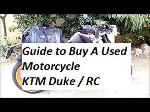 A Guide to Buy A Used KTM Duke 390.