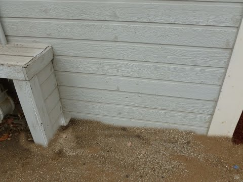 What To Do If Lower Section of Exterior Siding Is Buried in Dirt – Building Repair Tips