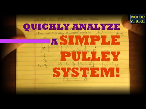 NUPOC VSG #89 - A Simple Pulley System