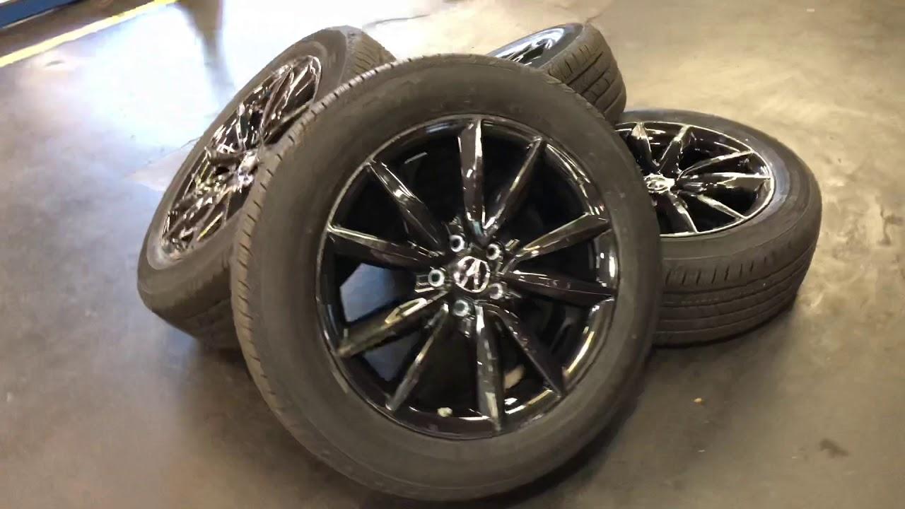 2019 Acura RDX Accessories: 19 Glint Black Wheels DM