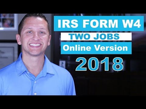 How to Fill Out IRS FORM W-4 with TWO JOBS