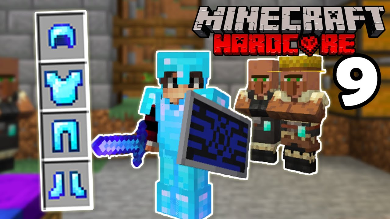 Minecraft Hardcore, But I Become Rich... (Minecraft Hardcore EP9)