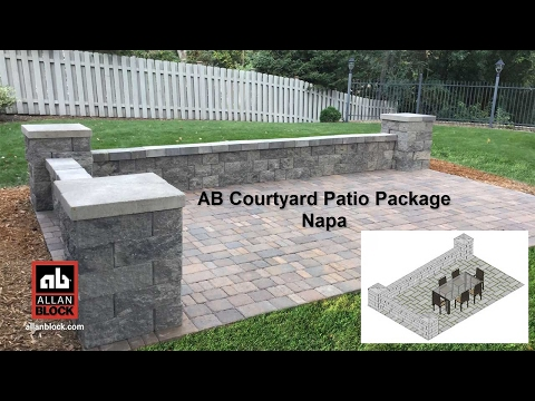 AB Courtyard Patio Package Napa