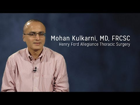 Mohan Kulkarni, MD, FRCSC - Thoracic Surgeon, Henry Ford Allegiance Thoracic Surgery