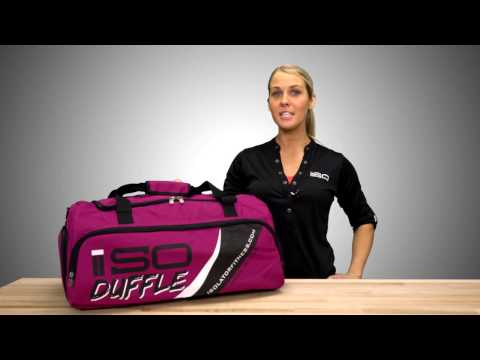 Isoduffle meal duffle by Isolator Fitness