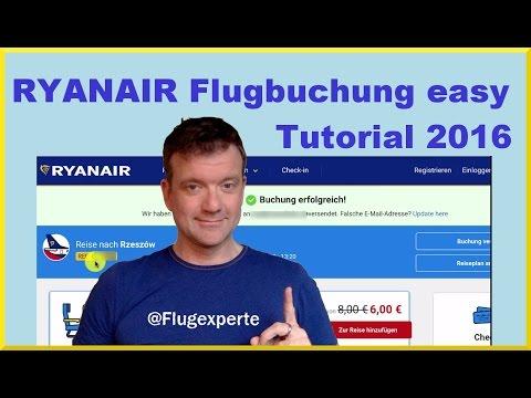 Ryanair Flugbuchung (2017) ohne Extra-Gebühren und Stolperfallen