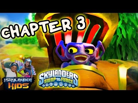 Lets Play Skylanders Swap Force: Part 5 - Mudwater Hollow 100% Complete (Chapter 3 Walkthrough)