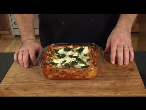 How to Make Vegetable Lasagna With Spinach : Fun With Food