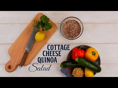 Cottage Cheese Quinoa Salad