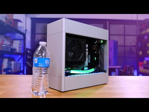 The smallest watercooled PC I've ever built is COMPLETE!