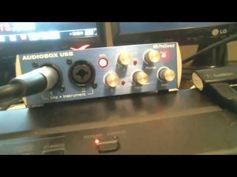 Fix PreSonus AudioBox USB 48v NOISE