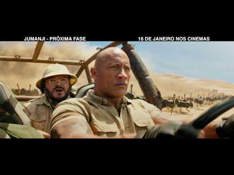 Jumanji: Próxima Fase | :30 Busted Revised | 16 de Janeiro nos cinemas
